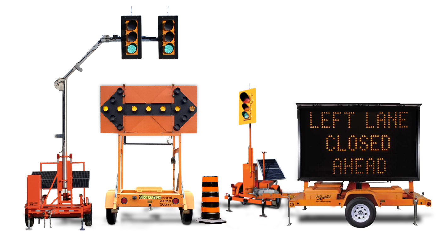 Portable Traffic Lights and Signs