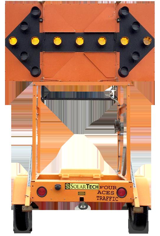 Solar Arrow Board Sign Rental